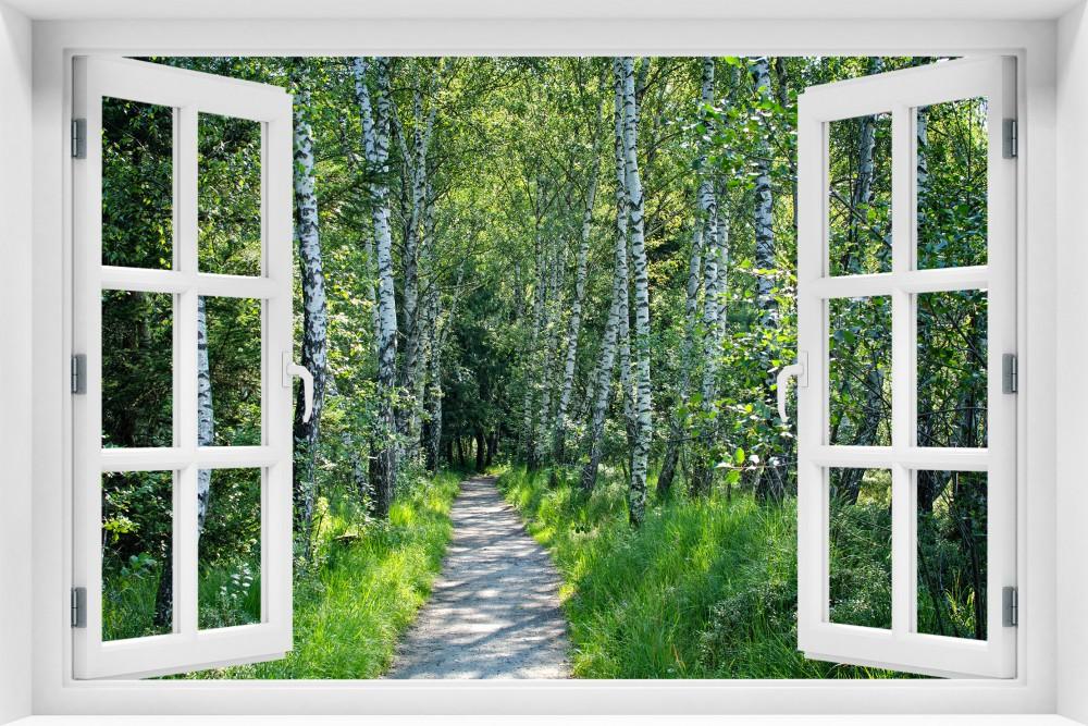 Las krl46-okno