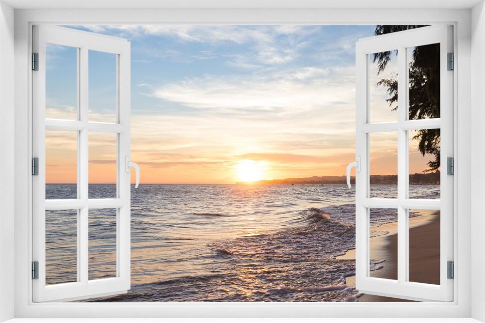 Zachód Słońca krzs12-okno