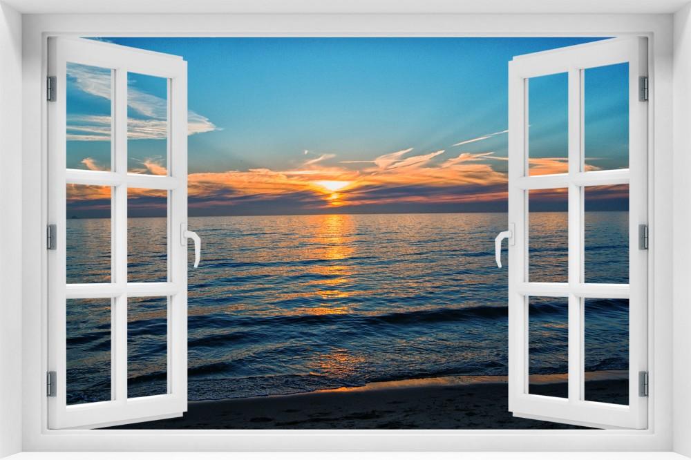 Zachód Słońca krzs6-okno