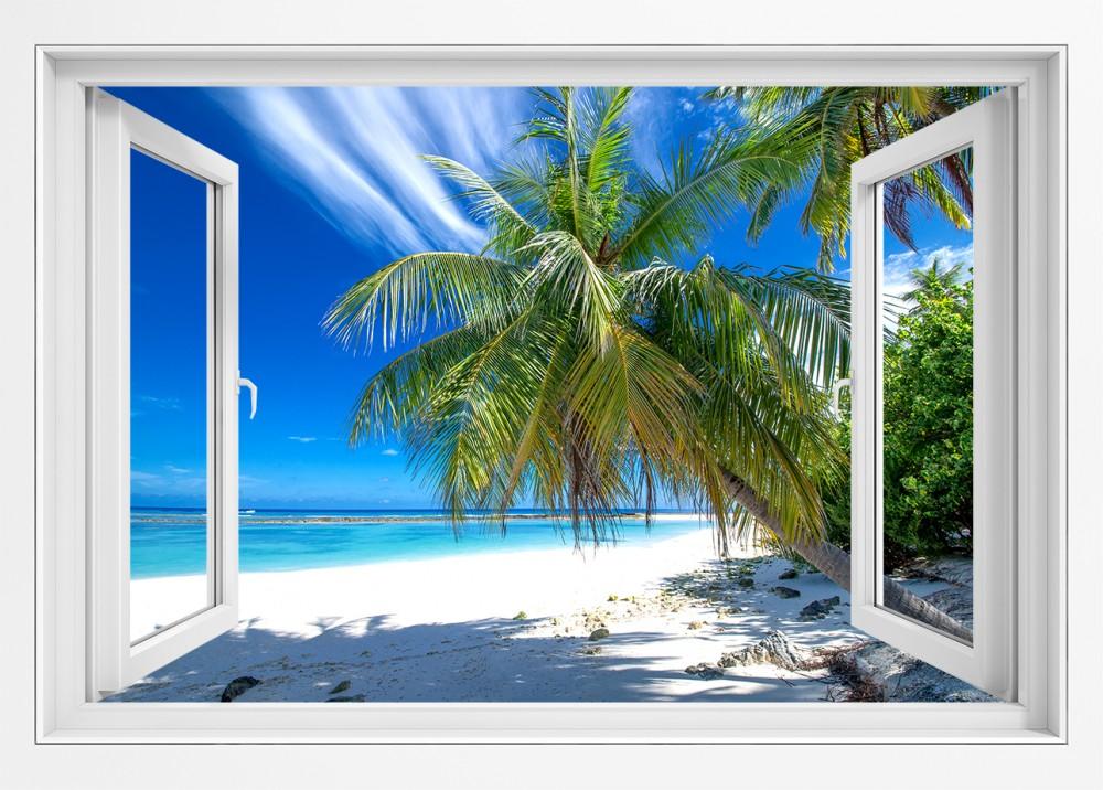Słoneczny widoczek z okna - #op050