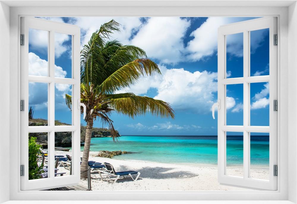Plaża p001-okno
