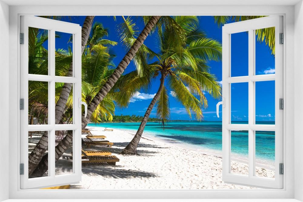 Plaża p027-okno