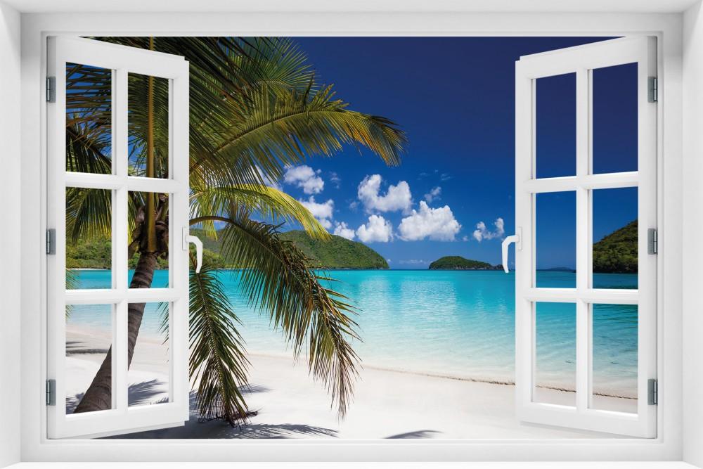 Plaża p036-okno
